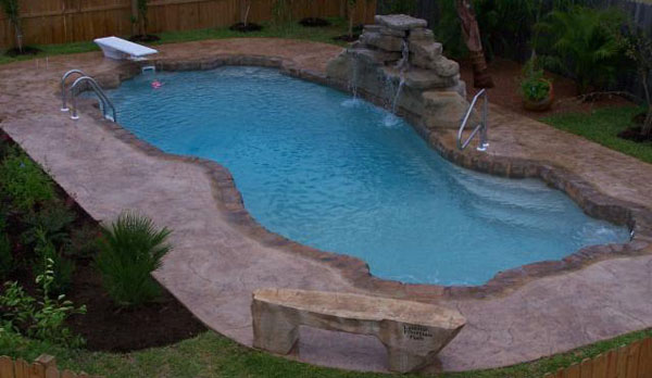 Waterfalls Largest In Ground Fiberglass Pool Manufacture